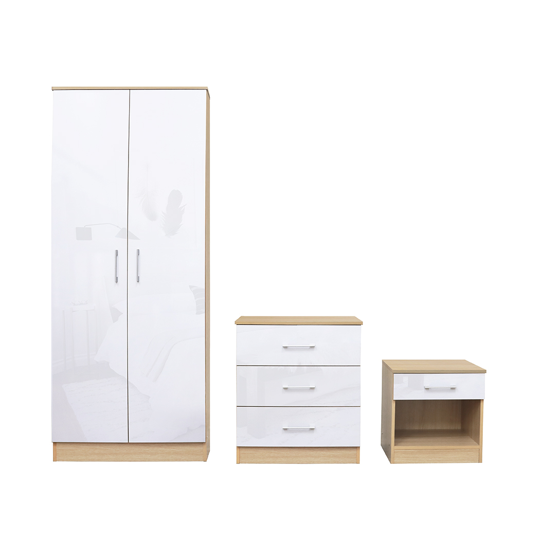 Darcy Bedroom Set White