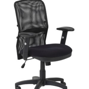Dakin Black Mesh Backrest Manager Chair