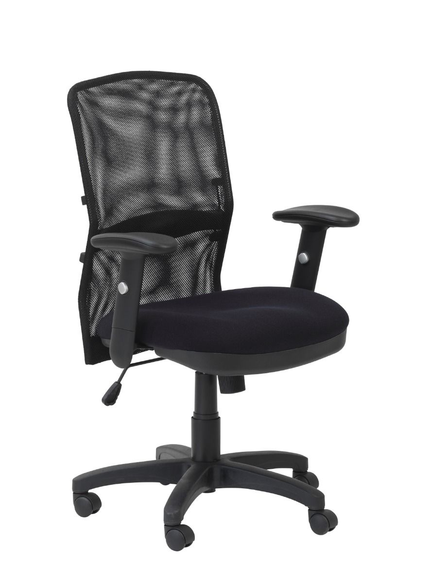 Dakin Black Mesh Backrest Manager Chair
