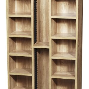 Calledonian Cd / Dvd Wooden Standing Storage Unit