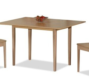 Eva Extending Wood Table And 2 Chairs