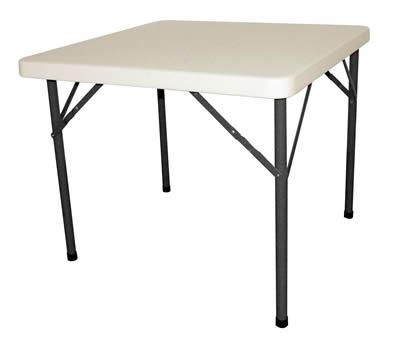 Samey Foldaway Square Steel Table