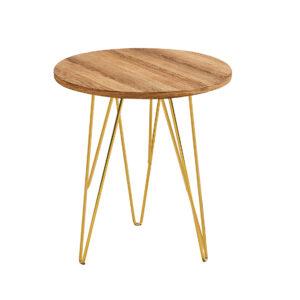 Foller Lamp Table Wood