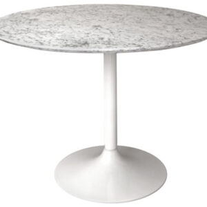 Gensifer White Kitchen Dining Table Base For Marble Or Granite Top Table Base Only