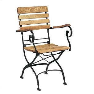 Sherman Folding Outdoor Armchair