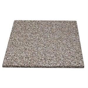 Monero 60Cm Square Kitchen And Dining Table Top Granite Effect Commercial Quality