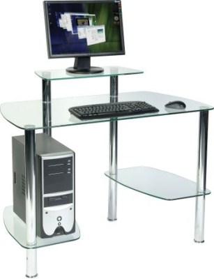 Glaco Workstation - Glass Desk