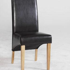 Razel Byecast Leather Dining Chair