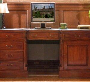 Bethany Solid Mahogany Home Office Desk