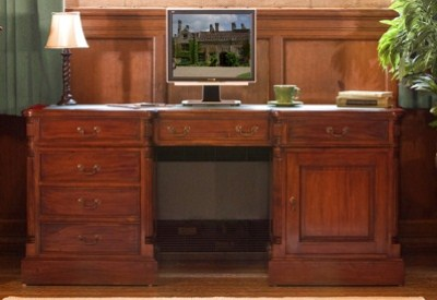 Bethany Solid Mahogany Home Office Desk