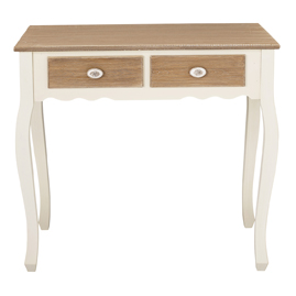Jewel Console Table with Drawers