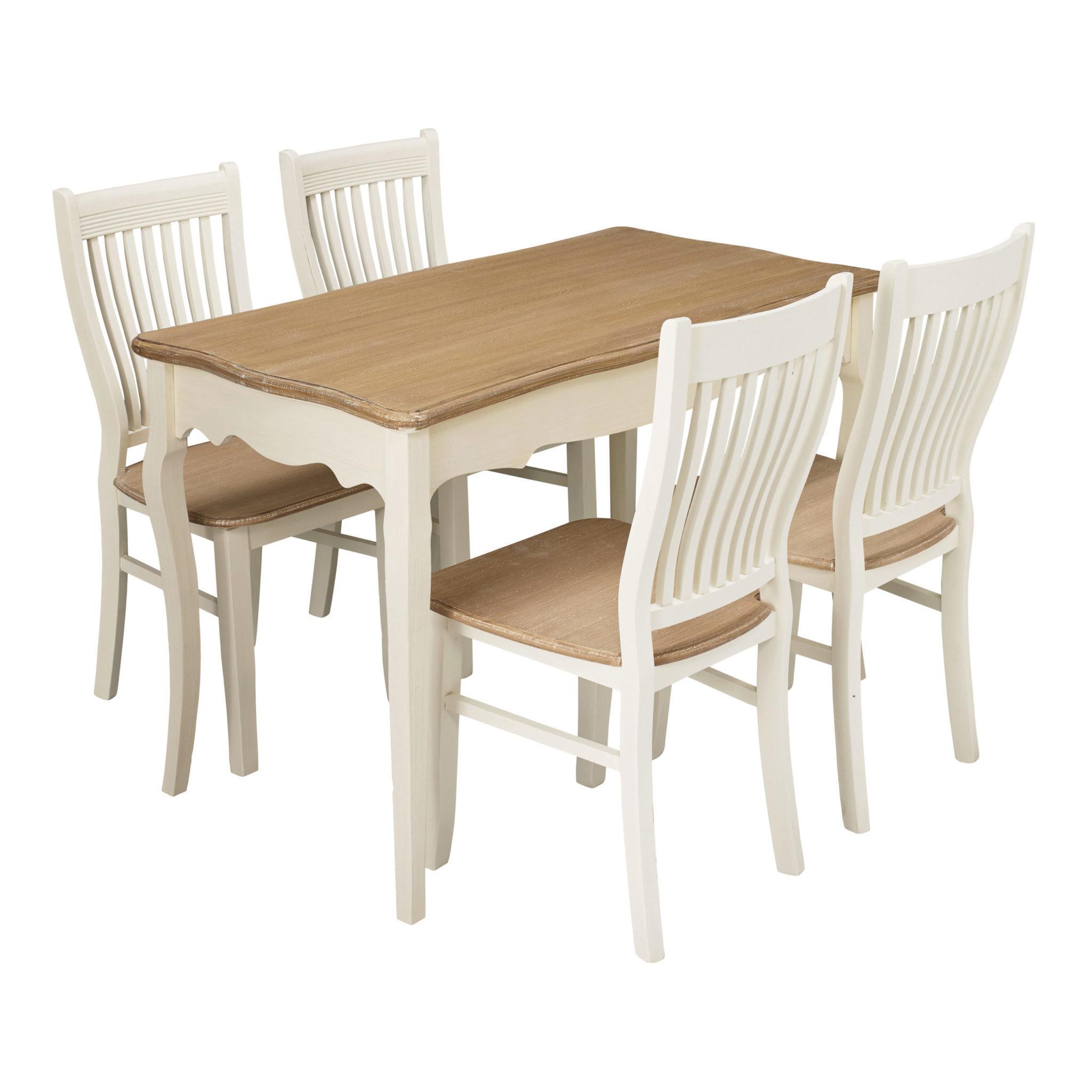 Jewel Dining Table Cream