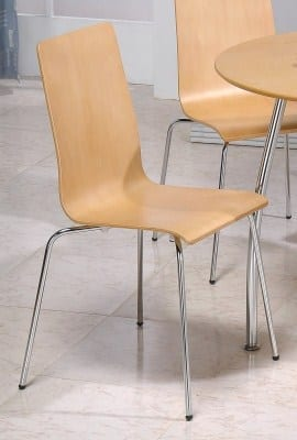 Tali 4 Beech Kitchen Dining Chairs