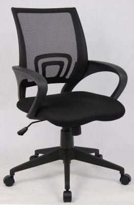Lint Fabric Mesh Swivel Office Chair