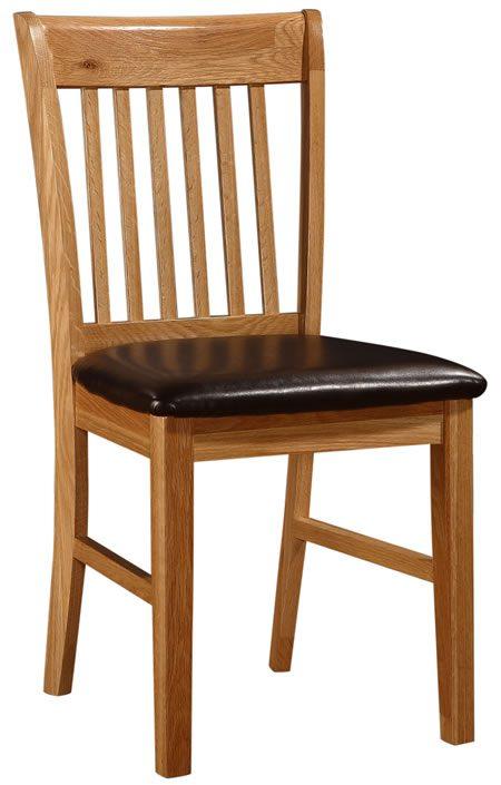Linkel Stylish Kitchen Dining Chair Wood Frame Padded Seat