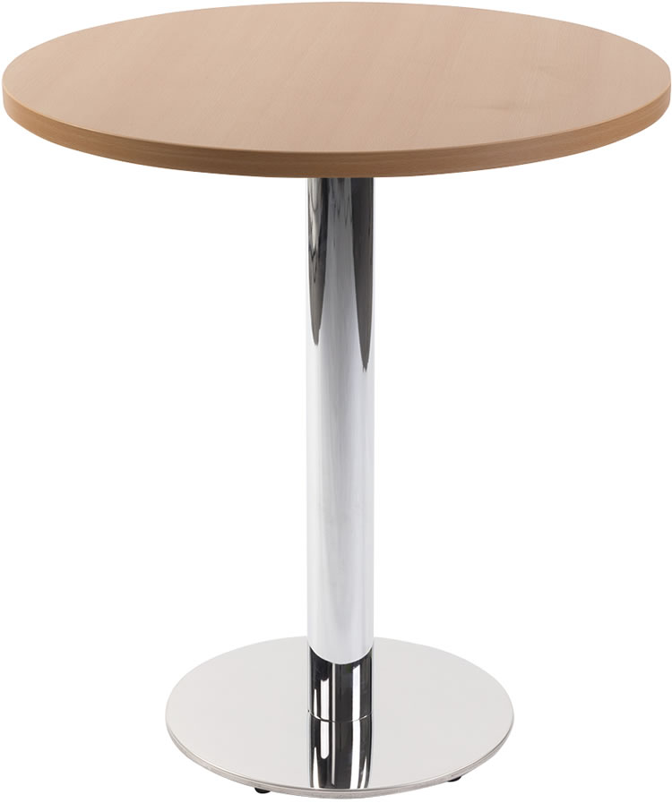 Lysandra Round Dining Table and Top - Beech