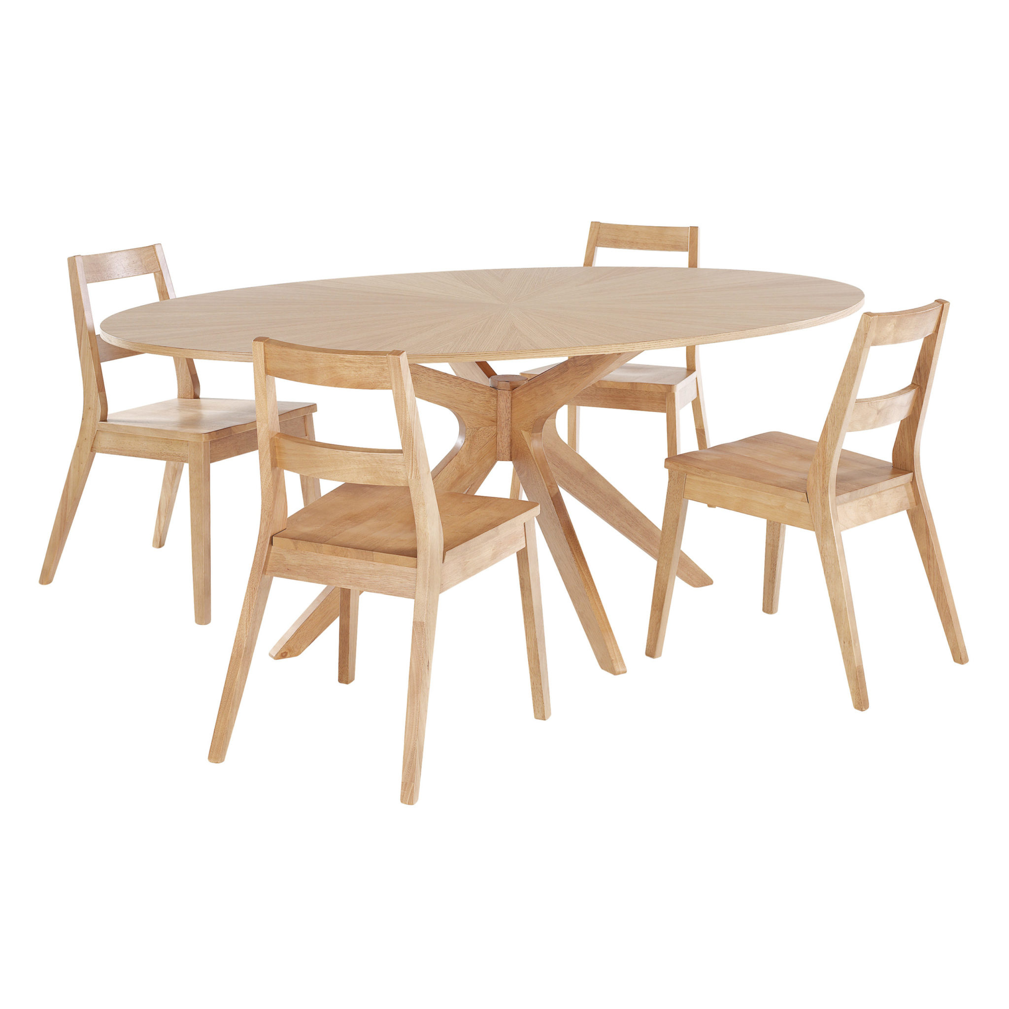 Melber Dining Table White Oak