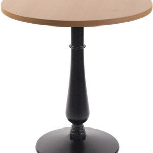 Ballad Cast Iron Circular Beech Dining Table