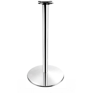 Foundation Large Round Poseur Table Base - Max Size 90Cm Dia Or 80Cmx80Cm