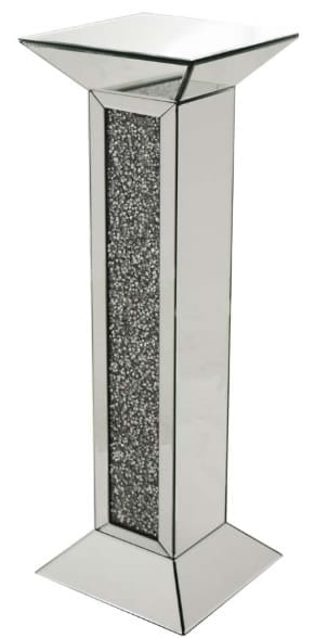 Mamo Mirrored Pedestal Column 91cm