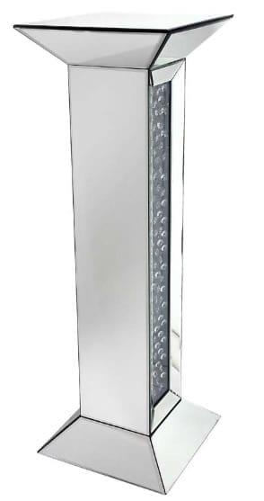 Mamo Mirrored Column Tall Pedestal