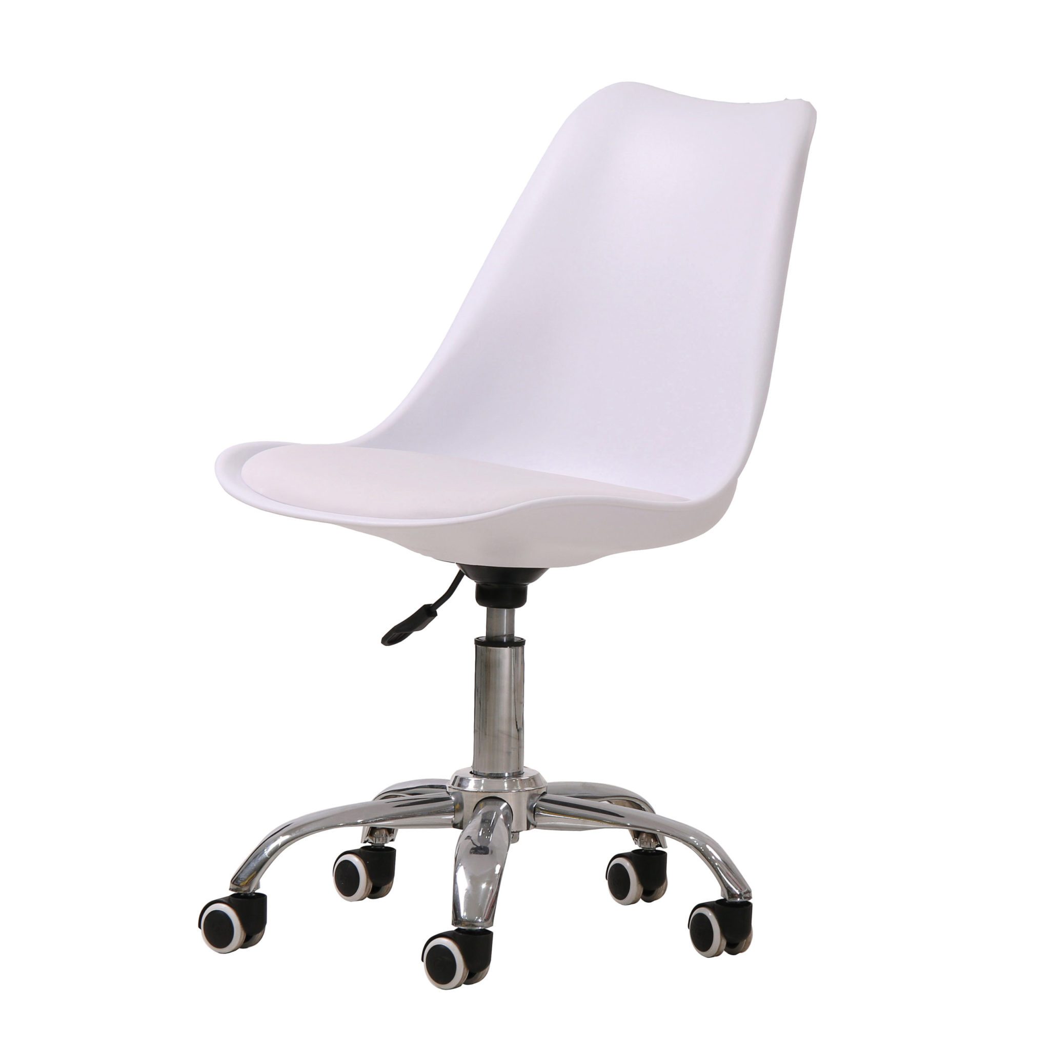 Osdera Swivel Office Chair White