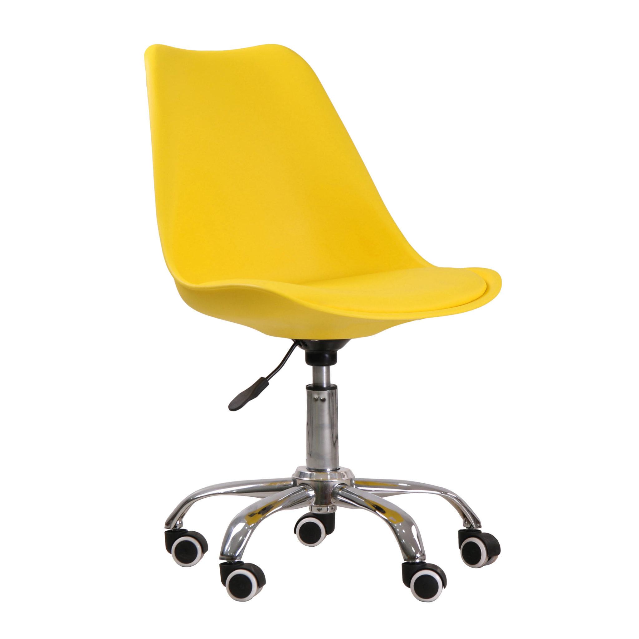 Osdera Swivel Office Chair Yellow
