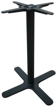 Oxon 4 Leg Black Dining Table Base