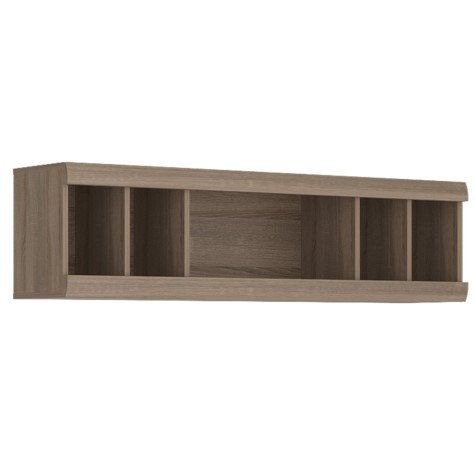 Peta Wall Unit - Champagne Oak Melamine