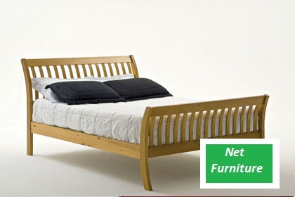 """Param Pine Bed - 4'6"""" / 5 / 6 Ft"""