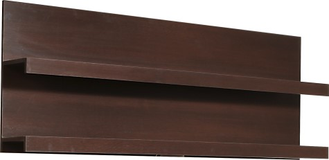 Pinot Wall Shelving Unit - Mahogany