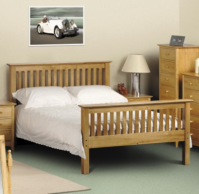 """Crenby Bed 3Ft 4' Or 4'6"""""""