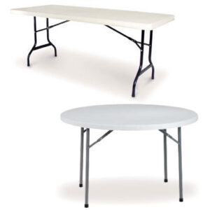 Lagray Plastic Folding Banqueting Tables Commercial Quality
