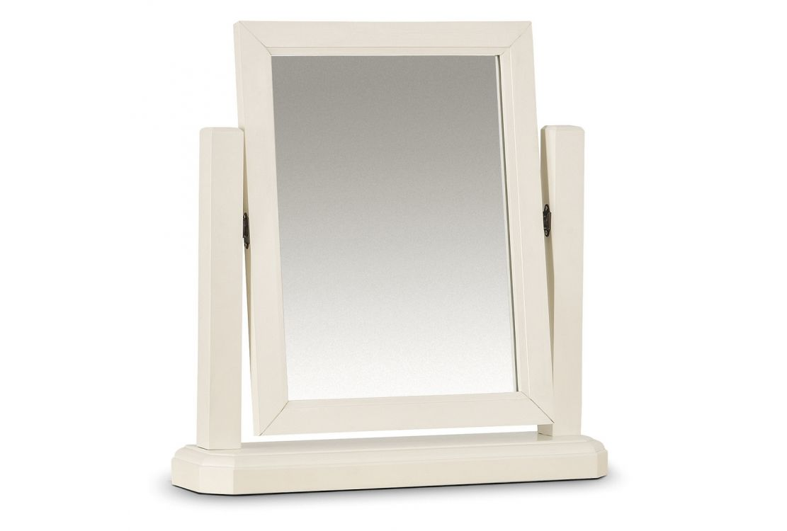 Patson Stone White Tilting Mirror