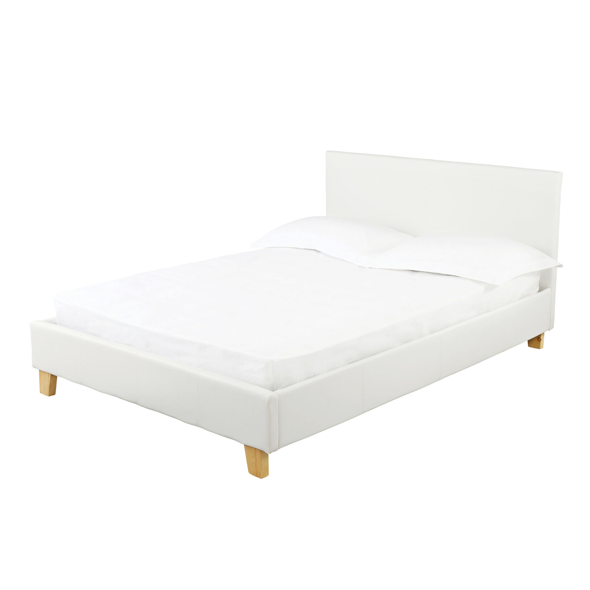 Pusrin 4.6 Double Bed White
