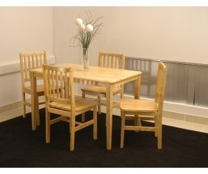 Lima Rubberwood Dining Table Only