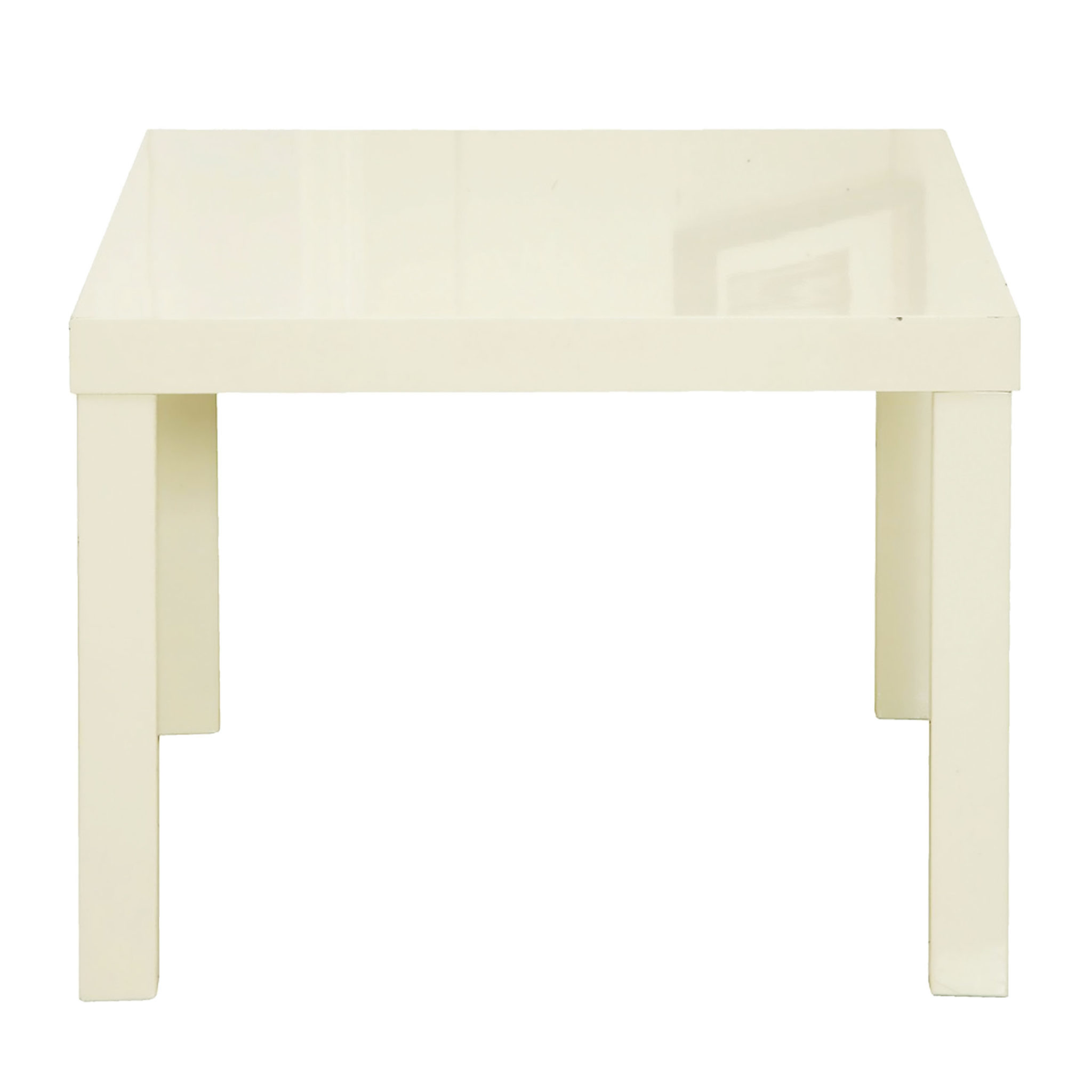 Manny End Table Cream