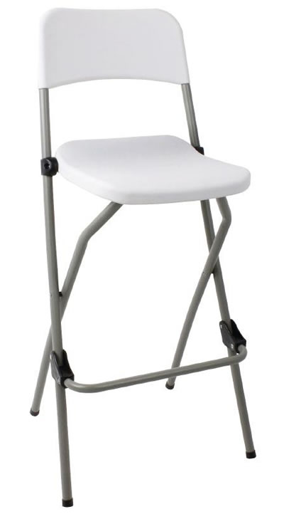 Bazon Folding Kitchen Breakfast Bar Stool Indoor And Outdoor Garden Use Fully Assembled