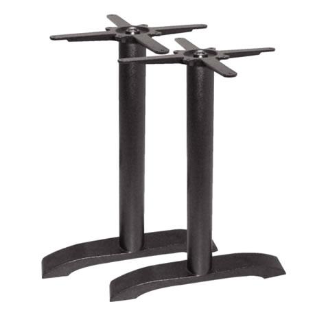 Toyney Rectangular Black Cast Iron Table Legs For Table Base