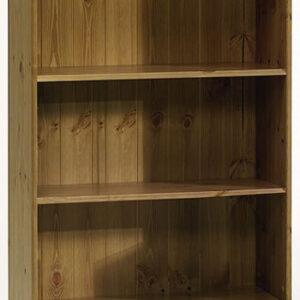 Rosemandy Antique Pine Large Bookcase 4 Shelves Danish Made Quality
