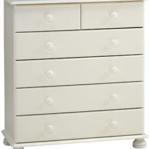 Rosemond Blanco Chest - 2+4 Drawer