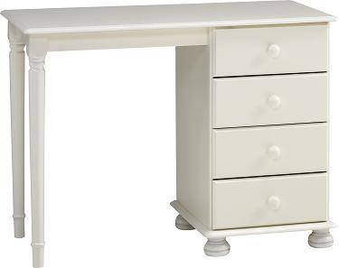 Rosemond Blanco Dressing Table - 4 Drawer
