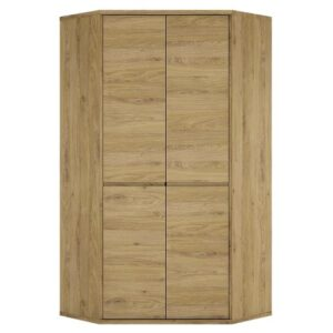 Tiamaria Glazed Wood 2 Door Storage Cupboard