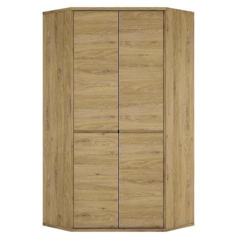 Tiamaria Glazed Wood 2 Door Storage Cupboard