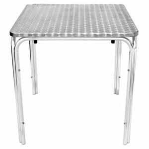 Tresnik Stainless Steel Garden Table Square