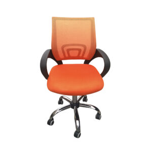 Eastner Mesh Back Office Chair Orange