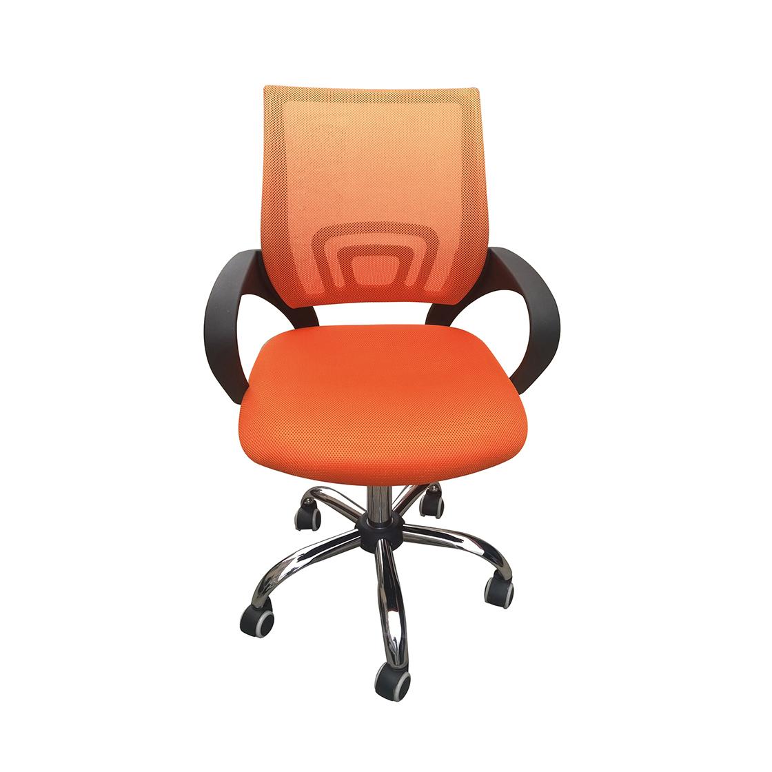 Eastner Mesh Back Office Chair Orange