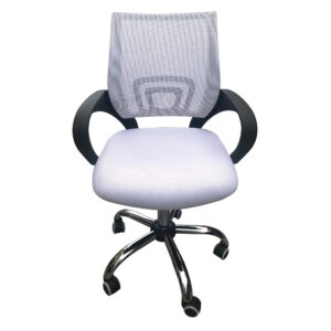Eastner Mesh Back Office Chair White