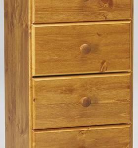 Ontario Pine 5 Drawer Bedroom Chest