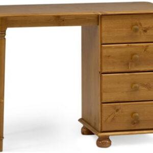 Ontario Pine Dressing Table - 4 Drawer